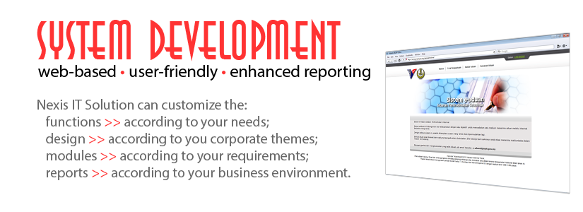 Nexis IT Solution web application (helpdesk system).